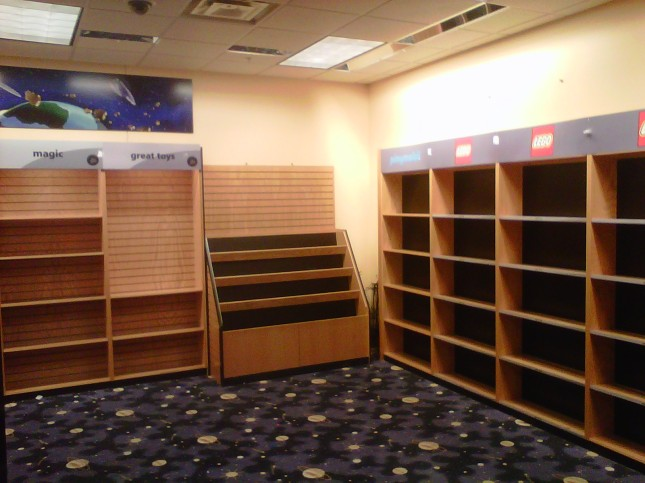 Empty kids' section