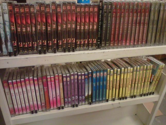 Overstock DVDs