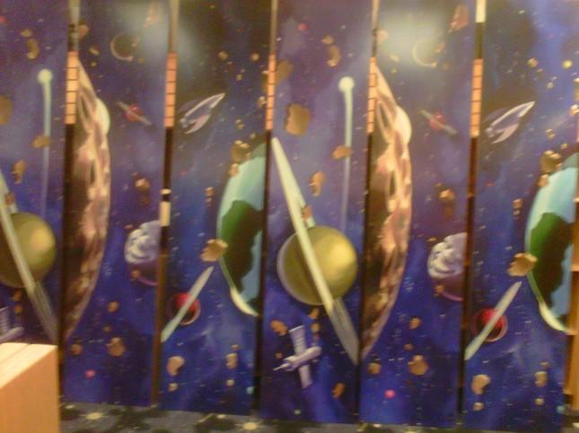 Kids' space panels