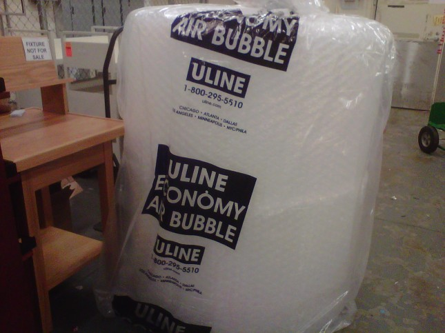 Giant bubble wrap