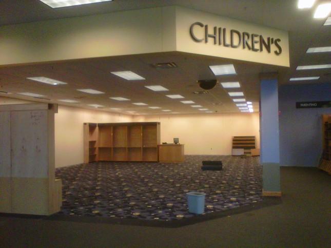Empty Kids' corner