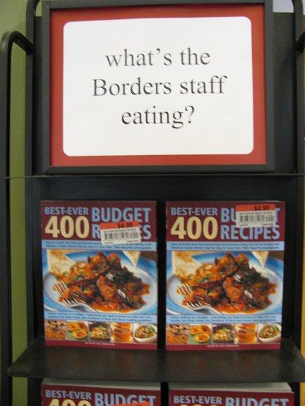 In-store display, June '09