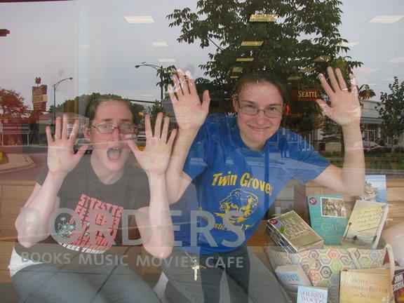 Summer '09 window display