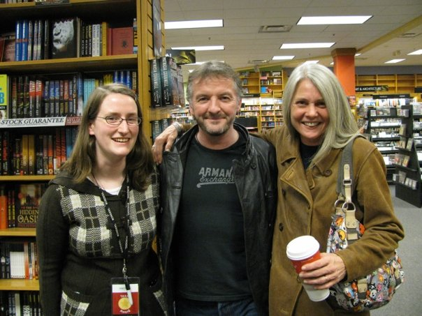 John Connolly with Rachel and Colby