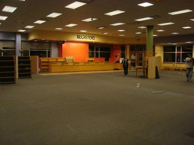 Former info desk