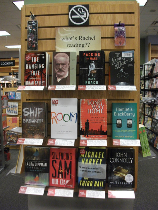 Staff pick display, Sept '10