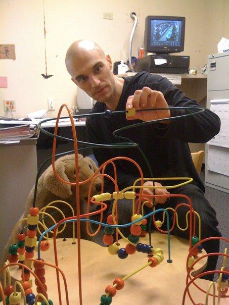 Toy bead maze