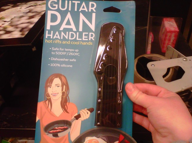 Guitar Pan Handler