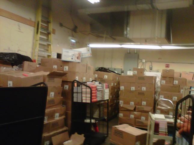 Full sort room