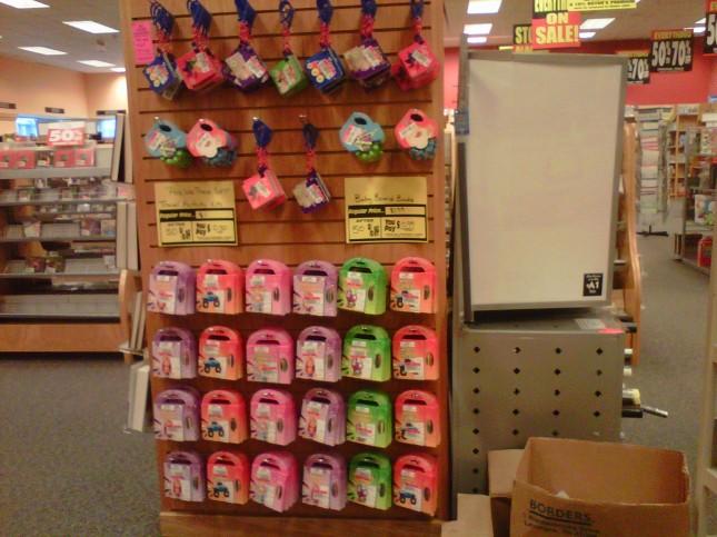 Kids' bargain endcap