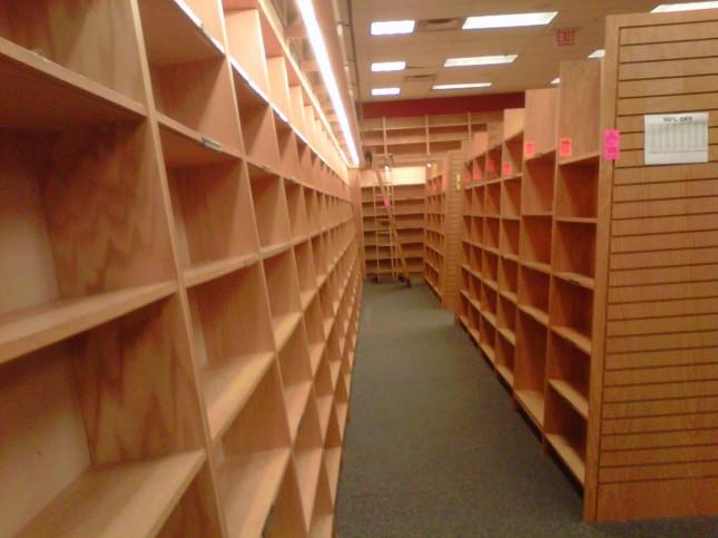 Empty 3rd floor, part 1
