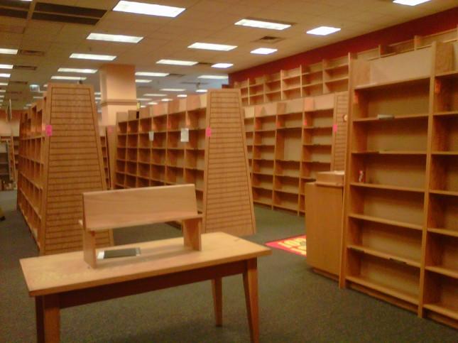 Empty 3rd floor, part 2