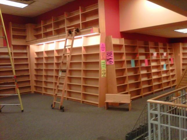 Empty 3rd floor, part 3