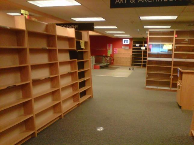 Empty 3rd floor, part 7