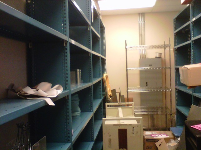 Paperchase stock room