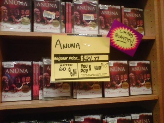 Anuna limited quantity