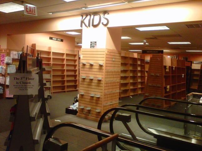 Kids' empty