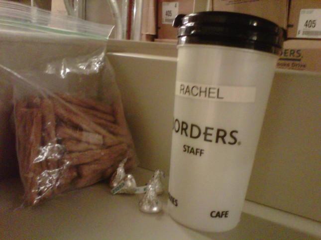 Breakfast at Borders, part 3