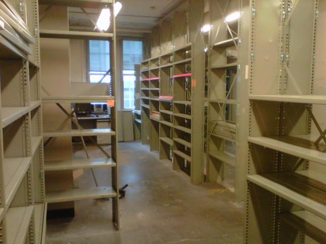 3rd floor stockroom
