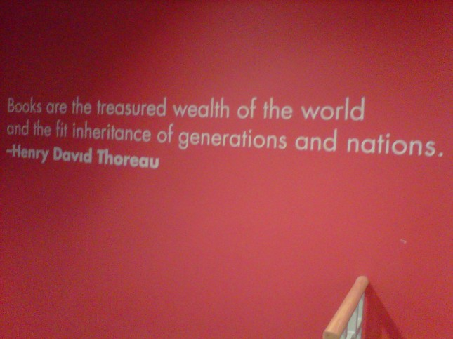 Thoreau quote closeup